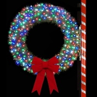 4' RMP Wreath with C6 LED