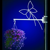 Flower Basket Holder Butterfly