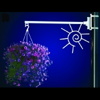 Flower Basket Holder Summer<br />Sun
