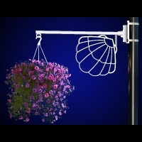 Flower Basket Holder Shell