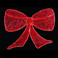 3' Deluxe Glitter Bow