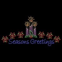18' x 35' Festive Season's<br />Greetings