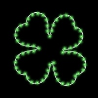 5' Four Leaf Clover