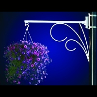 Flower Basket  Holder Double<br />Swirl