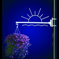 Flower Basket Holder Sunrise