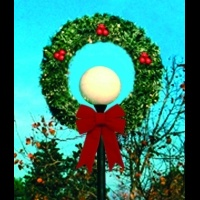 4' Wreath Lamp Cover