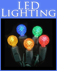 LED Lighting Category Button