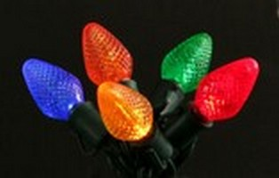 LED C7 Multicolor Light String