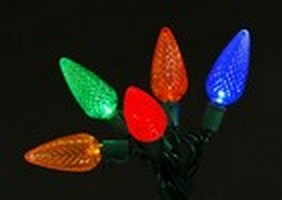 LED C9 Multicolor Light String