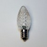 LED C7 White Replacement Bulb