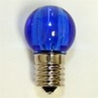 LED G30 Replacement Bulb Blue
