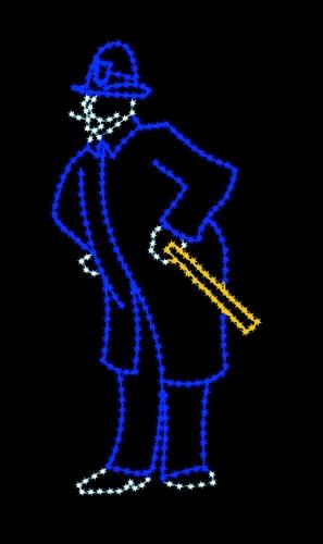 8' Victorian Policeman