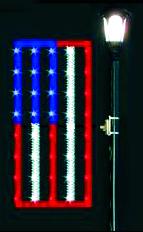 4' Garland Flag