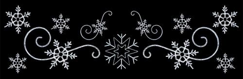 52' Custom LED Snowflake Montage