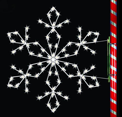5' Silhouette Sierra Snowflake