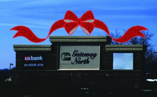 Gateway Bow Sign Enhancer