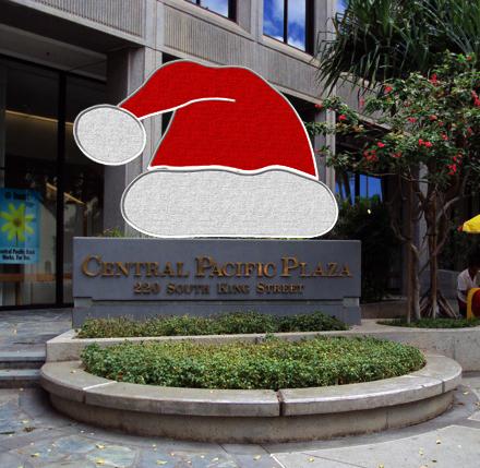 Santa Hat Sign Enhancers