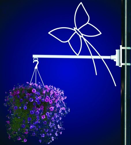 Flower Basket Holder Butterfly