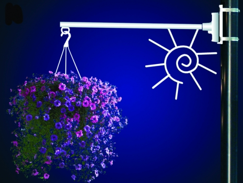 Flower Basket Holder Summer Sun