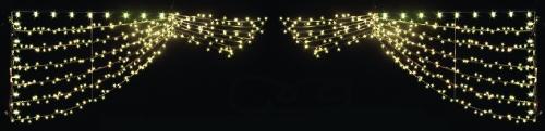 3' x 12' Curtain of Lights