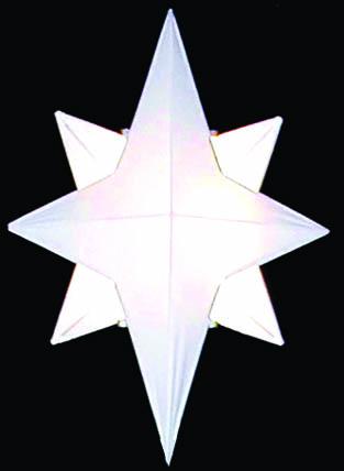 5' 3D Star of Bethlehem