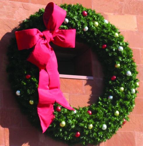 12' Cascade Wreath