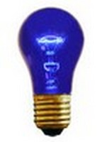 A15 (15W) Party Bulb Transparent Blue