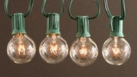 G30, G40, G50 Clear Globe Light String Set