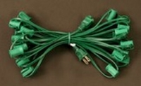 C7 Light String - Green
