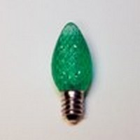 LED C7 Green Replacement Bulb