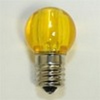 LED G30 Replacement Bulb Yellow