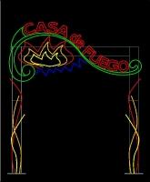Casa De Fuego Custom Arch