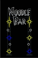 Noodle Bar Custom Arch