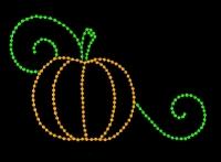 5' x 8'  Small Pumpkin (ground mount)