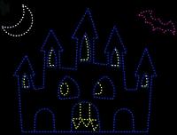 17' x 20' Halloween Castle