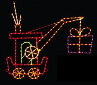 9' Silhouette Crane Car