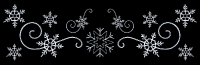 52' Custom LED Snowflake Montage