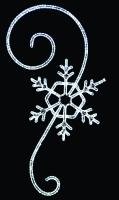7' Elegant Snowflake