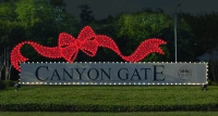 Canyon Gate Sign After Enhancer