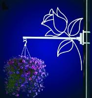 Flower Basket Holder Rose