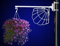 Flower Basket Holder Shell
