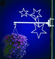 Flower Basket Holder Stars