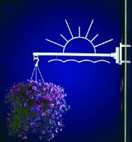 Flower Basket Holder Sunrise