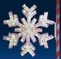 6' Arctic Snowflake