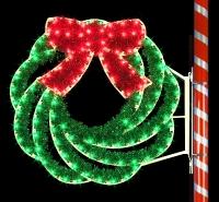 4' Swirl Wreath