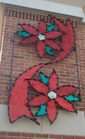 Poinsettia Building Front Display