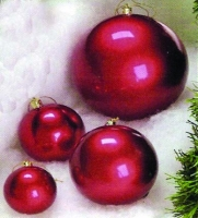 3 to 24 in Metallic Ball Ornaments