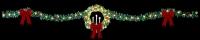 40' Tri Candle Wreath Skyline